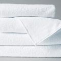 Полотенце махровое, белое 50*100см
